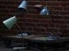 Bureaulamp Blauw 7