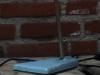 Bureaulamp blauw 2